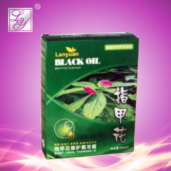 50ml*3 permanent black henna herbal hair dye