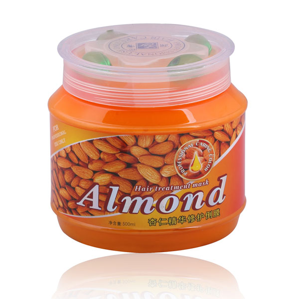 Almond Moisture keratin hair treatment mask