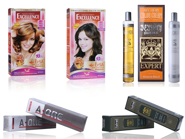 Wholesale high quality professional hair dye cream