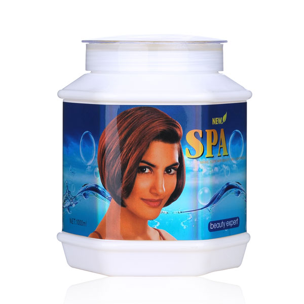 Spa salon dead sea mineral hair mask