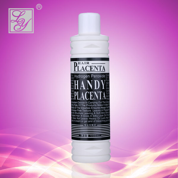 Placenta Hair products peroxide for salon