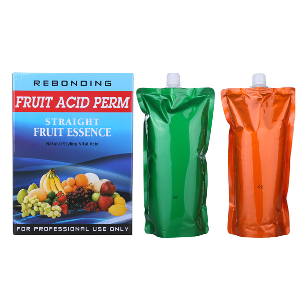 Hot sale Fruit acid essence hair rebondng perm