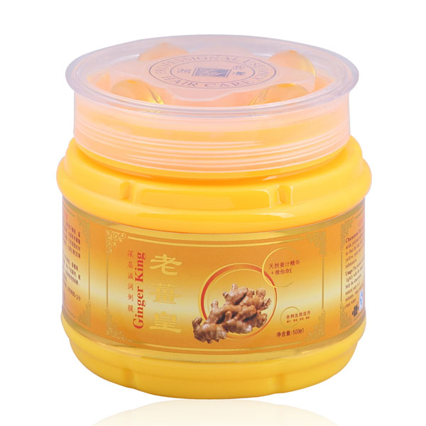 Gold ginger hair protein treatment