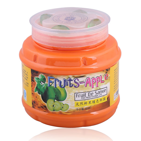 Fruits apple repairing mask hair colour