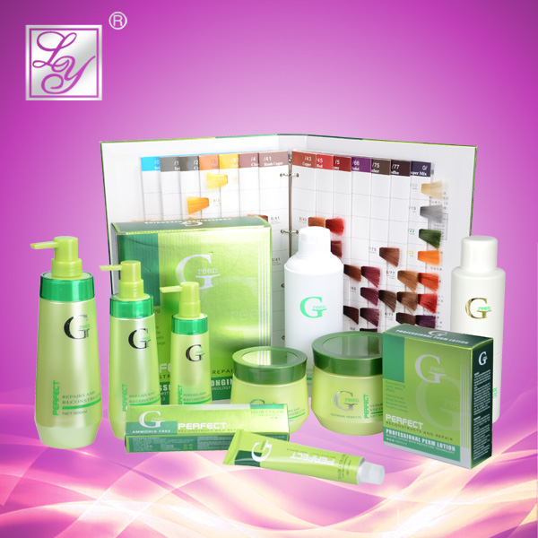 Yilan Series hair care products for silky hair